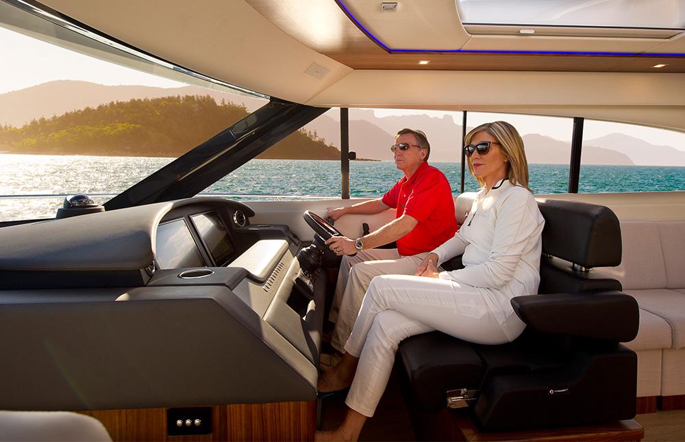 Helm Design sports yacht helms marsh duffield design